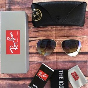 ⚠️60% OFF AUTHENTIC RAY BAN AVIATORS